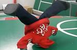 Manoi el robot que baila Breackdance