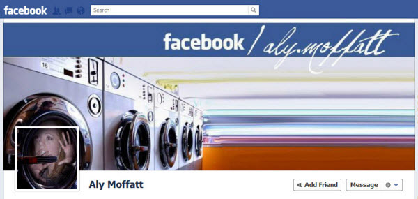 aly moffatt Facebook Timeline Cover: 40 (Really) Creative Examples