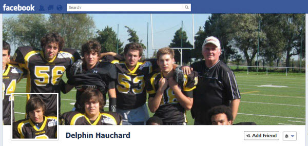 delphin hauchard Facebook Timeline Cover: 40 (Really) Creative Examples