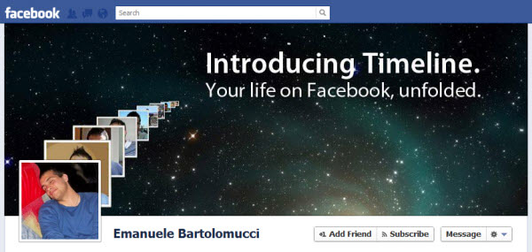 emanuele bartolomucci Facebook Timeline Cover: 40 (Really) Creative Examples