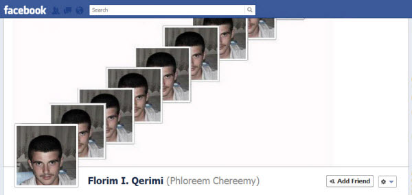 florim i qerimi Facebook Timeline Cover: 40 (Really) Creative Examples