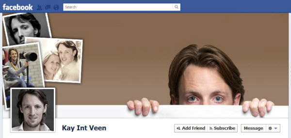 kay int veen Facebook Timeline Cover: 40 (Really) Creative Examples