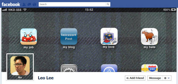 leo lee Facebook Timeline Cover: 40 (Really) Creative Examples