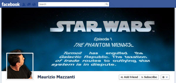maurizio mazzanti Facebook Timeline Cover: 40 (Really) Creative Examples