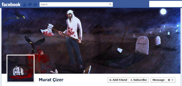 murat cizer Facebook Timeline Cover: 40 (Really) Creative Examples