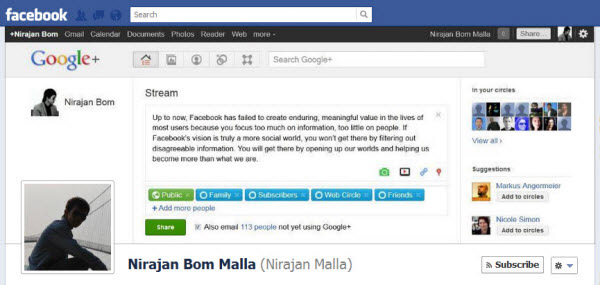 nirajan bom malla Facebook Timeline Cover: 40 (Really) Creative Examples