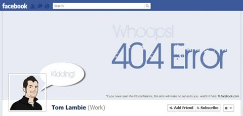 tom lambie Facebook Timeline Cover: 40 (Really) Creative Examples