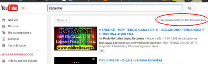 Tutorial disfruta cantando karaoke con videos de Youtube