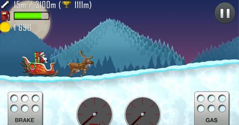 Hill Climb Racing Navidad