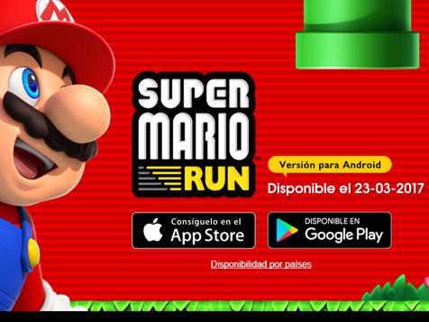 Super Mario Run disponible para Android