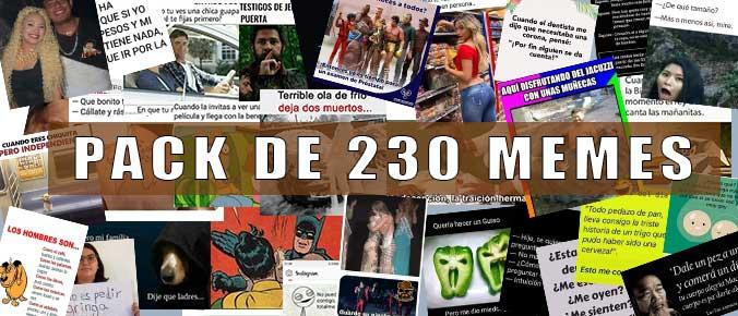 Pack de 230 memes para usarlos en tus redes sociales